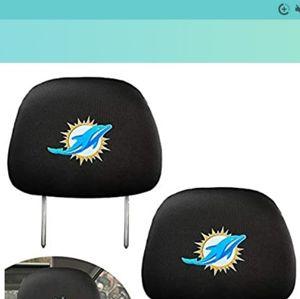 Miami Dolphins Football Car Bundle